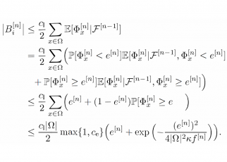 Mathematics excerpt from Online Optimization of Product-Form Networks