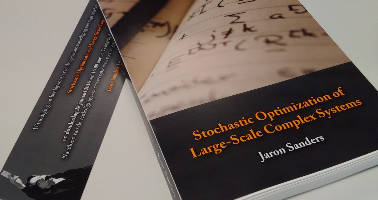 PhD thesis Stochastic Optimization of Large-Scale Complex System, by Jaron Sanders
