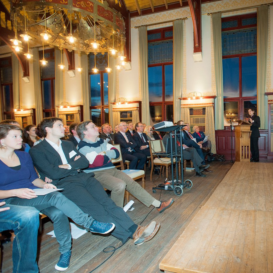 Presentation at the ceremony for the Jong Talent Prijzen by Jaron Sanders