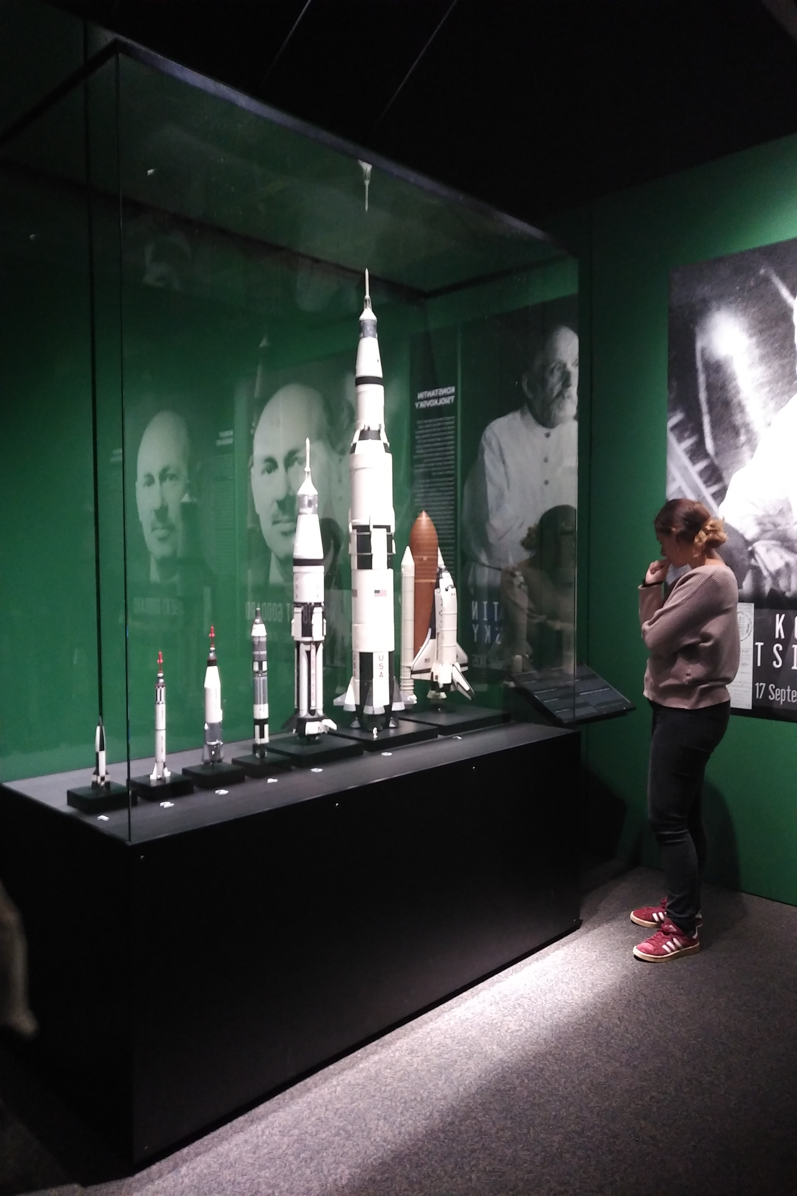 NASA - A Human Adventure exposition at Queensland Museum